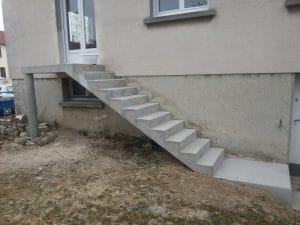 Escalier de jardin - AG-Bat